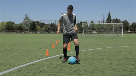 how to develop soccer dribbling skills 13 steps
