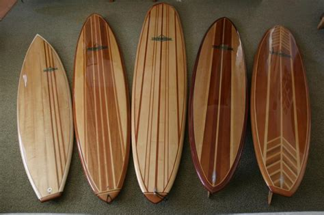 bench wood  plans  hollow wooden surfboard