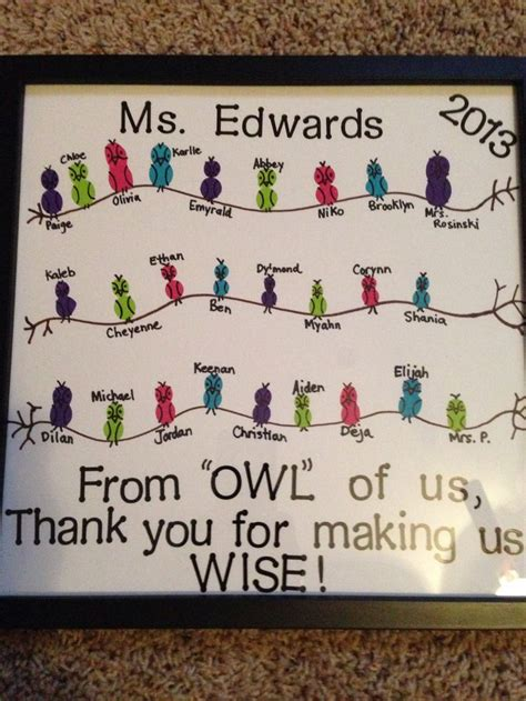 ideas from to student student gift owl theme gift ideas