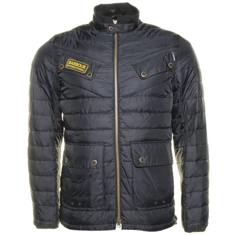 buy barbour international mens black aviemore quilted