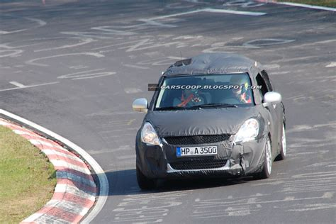 car scoop  suzuki swift spied   nurburgring