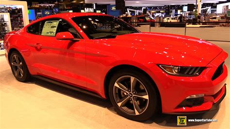 2015 ford mustang v6 coupe exterior and interior