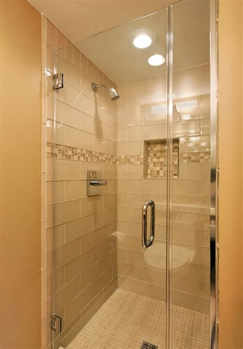 Houzz Small Bathrooms With Showers Large Subway Tiles In A Shower
