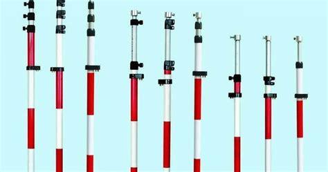 Stik Prisma alat survey dan pemetaan surabaya yalon pole stick