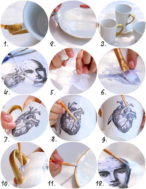 Dishwasher Safe Decoupage - decoupage dishwasher safe dishes diy 183 how to make a cup