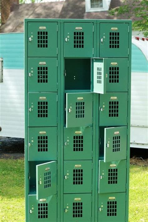 metal lockers for rooms green vintage metal lockers by craftypieco on etsy 400