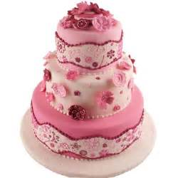 pinker kuchen it s all about the pink pink wedding cakes that is
