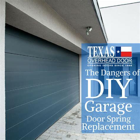 Broken Garage Door Danger The Dangers Of Diy Broken Replacement