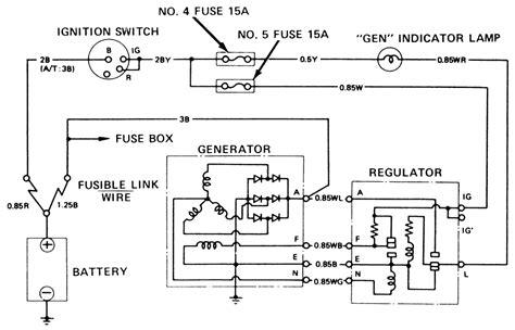 repair guides charging system general information