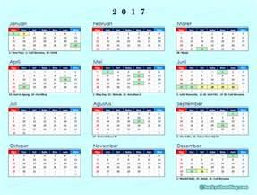 Kalender Islam Tahun 2018 Kalender 2017 Indonesia Lengkap Dgn Libur Nasional