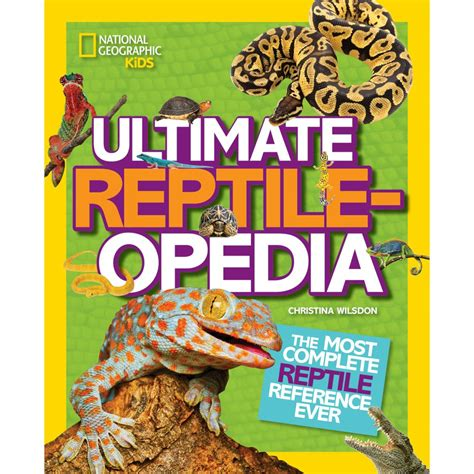kalask the reptilian question books ultimate reptileopedia national geographic store
