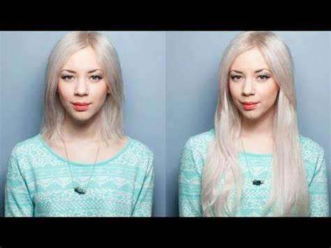 how to use hair extension to cover thinning hair on crown how to apply clip in hair extensions in short hair