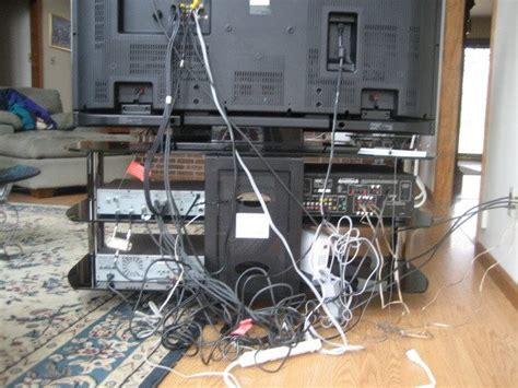 Messy Wires | how to baby proof your television