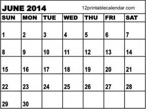 Kalender 2014 Juni 5 Best Images Of Calendar June Printable June Printable