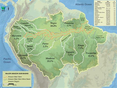 amazon basin basins amazon waters