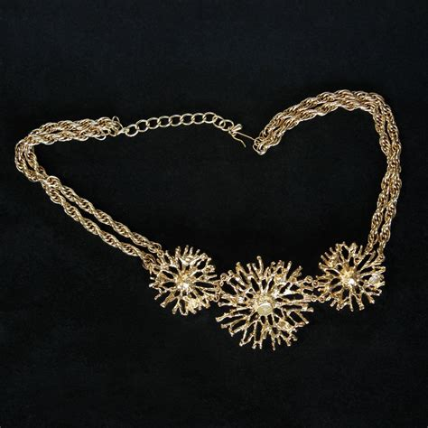Kenneth Jay Lane for Avon 'Regal Riches' Necklace ? Flotsam from Michigan Vintage