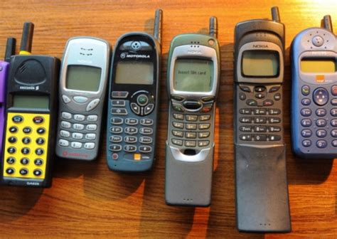 early mobile phones from the brick to the blackberry a look back at three