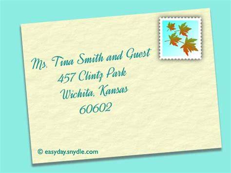 where do you write and guest on wedding invitation how to address wedding invitations easyday