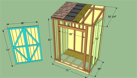 woodwork building plans lean  storage shed  plans