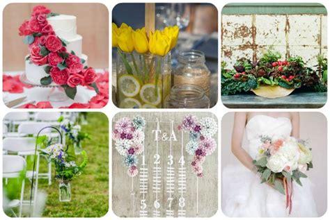 idee fiori matrimonio idee per i fiori di matrimonio trashic