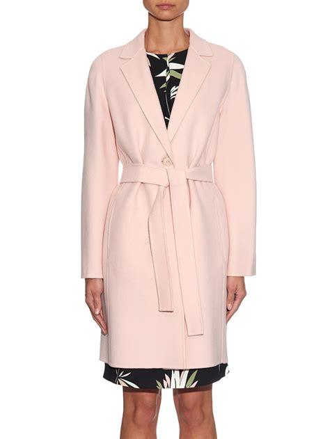 light pink wool coat baby pink wool coat coat racks