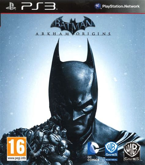 Ps3 Batman Arkham Origins New batman arkham origins 2013 playstation 3 box cover mobygames