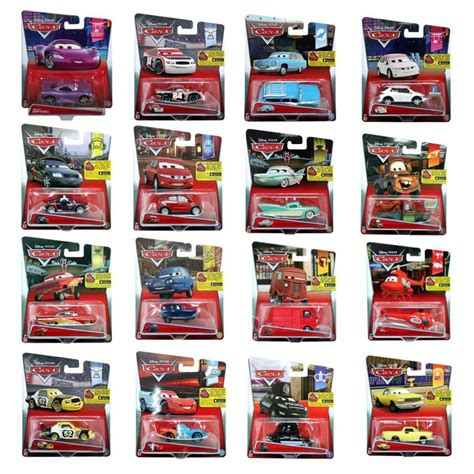 Auto Cars by Cars 2 Die Cast Character Fahrzeug Sortiert 1 Stk Real