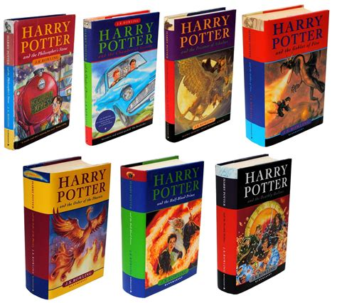 harry potter books pictures the influential harry potter books bloglet