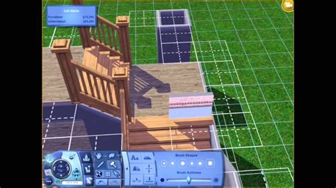 sims  tutorial  shaped stairs youtube