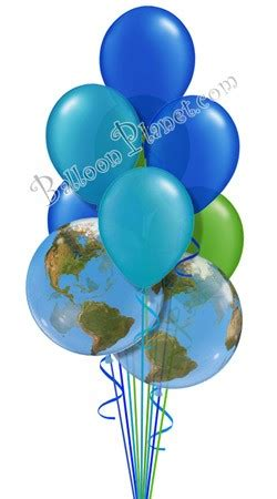 earth day colors earth day colors balloon bouquet 9 balloons balloon