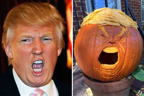 donald trump halloween trumpkins donald trump pumpkins are being carved for