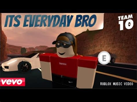 it's everyday bro jake paul | roblox music video | doovi