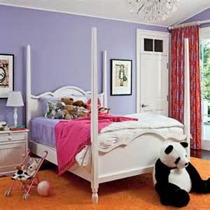 Purple and orange kids bedroom kids rooms coastal living