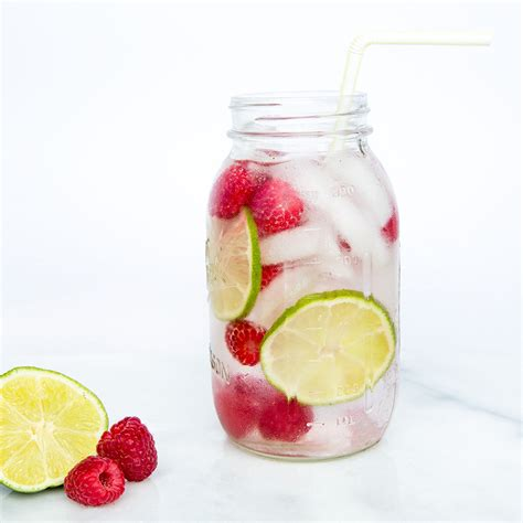simply made with raspberry lime water refreshing infused water with raspberry and lime cooking light