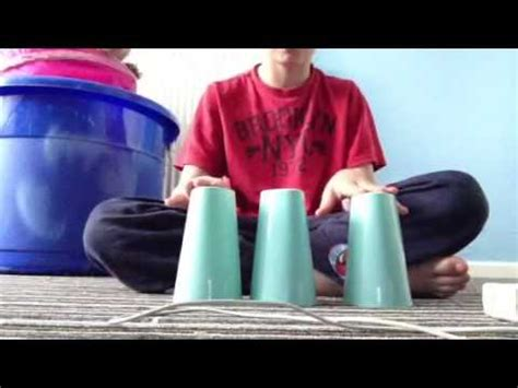youtube tutorial cup song the cup song tutorial 3 cups youtube