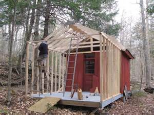 Shed Construction Move To Raquette Lake 2008