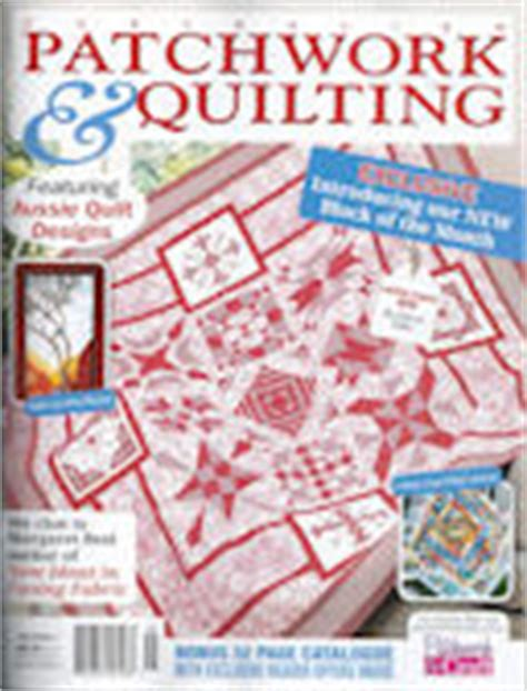 Patchwork And Quilting Magazine Back Issues - products