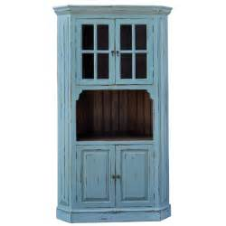 country kitchen corner cabinet painted house buffets coastal living hutches