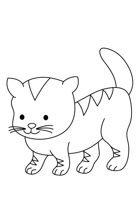 animal coloring pages kitten 2012 01 29