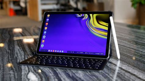 the galaxy tab s4 is built for work but gets done