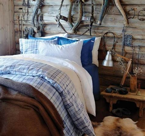blue rustic bedroom 65 cozy rustic bedroom design ideas digsdigs