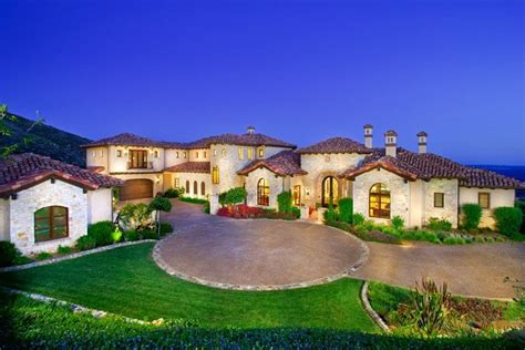 Spanish Style Home Plans by Cielo Rancho Santa Fe Homes Beach Cities Real Estate