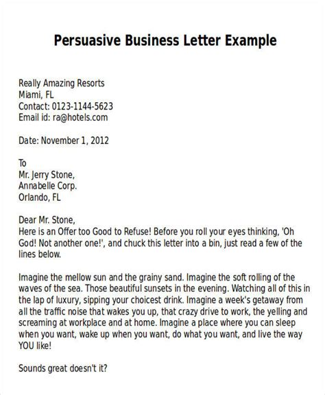 writing a sales letter tips exles