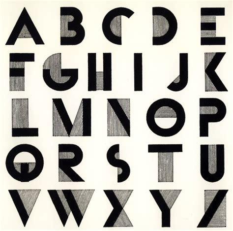 typography letters history of design robbie ulrich deco assignment