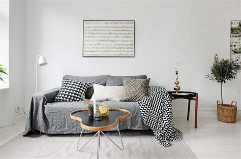 scandinavian apartment makes clever use of small space