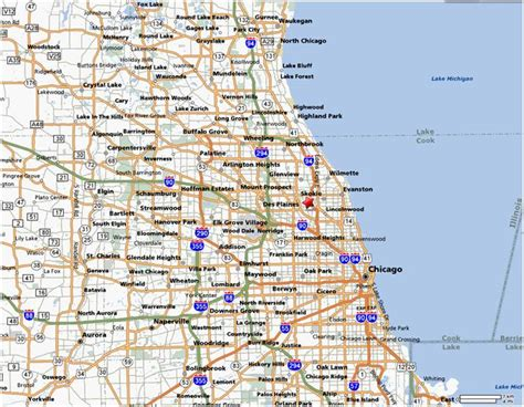chicago suburbs map map of chicago and suburbs kelloggrealtyinc