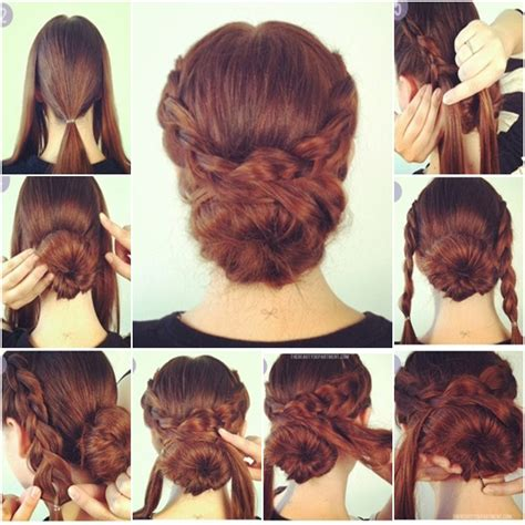 easy bun hairstyles search hair styles