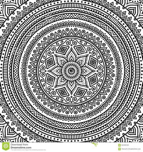 mandala coloring book price philippines mandala coloring page stock vector image of henna