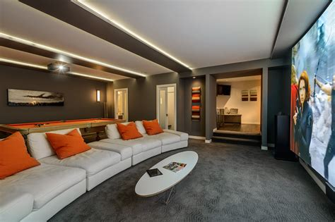 Living Room Theater Vancouver by Dwell On Despard Home Theater Vancouver