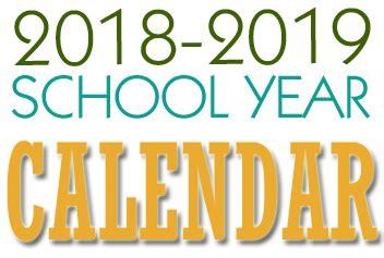 2018 2019 school calendar carlynton school district